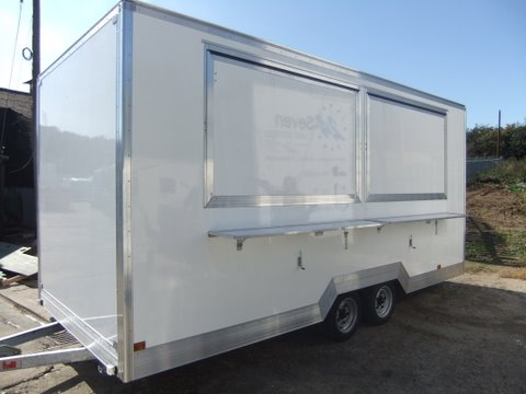 Catering Trailers For Hire With Immediate Delivery Burger Vans Mobile Kitchens Emergency